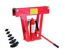 12 Ton Hydraulic Tube Rod Pipe Bender 6 Dies Bending Jack Machine Hand Tool