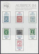 Australia 1984 Ausipex 84 World Philatelic Expo Mini Sheet
