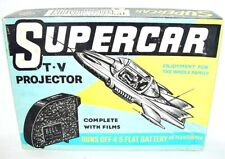 Bell Toys MIKE MERCURY SUPERCAR Gerry Anderson FILM PROJECTOR Manual NMIB`61!
