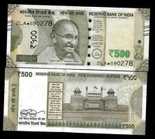 "Rs.500/- Urjit Patel  Star Note ""E"" Inset  Prefix 2LA  2016 - UNC  LATEST"