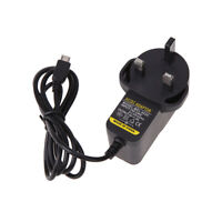 UK AC to DC 5V 2A Micro USB Power Supply Adapter for Windows Android Tablet #G