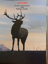Winchester 1989 Ballistics Guide