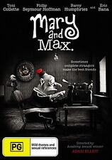 Mary And Max - NEW DVD