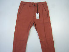 ROGAN ORANGE 30 STRIPED CASUAL PANTS MENS NWT NEW