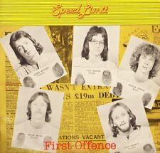 SPEED LIMIT first offence SATL4011 uk satril 1978 LP PS VG+/EX