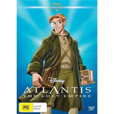 ATLANTIS:The Lost Empire-Walt Disney Classics 34-Region 4-New AND Sealed