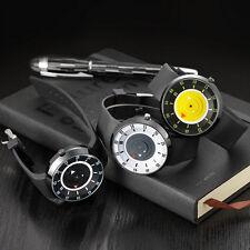 Moda Reloj Hombre Lujo Acero Inoxidable Analógico de cuarzo Deporte pulsera # DF
