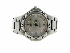 TAG HEUER CHRONOMETER WL5110 200 METERS WATCH SWISS STAINLESS STEEL EXTRA LINKS