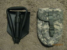 Entrenching Tool (E-Tool), Tri-Fold, with ACU Carrier, New