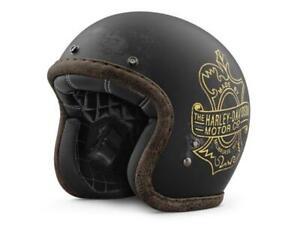 Harley-Davidson® Bootlegger's Pass 3/4 Helmet - 98236-19EX