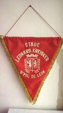 Vintage Fanion St Pol de Leon Stade Leonard Bretagne Football Foot 42 cm x 36 cm