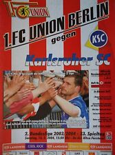 MSV Neuruppin Programm 2005//06 Union Berlin