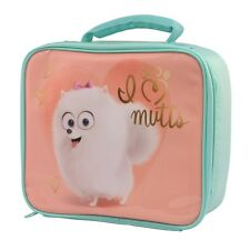 The Secret Life of Pets Gidget Lunch Bag Childrens Insulated School Lunchbag