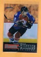 1996-97 Leaf Limited Claude Lemieux Bash the Boards /3500 Avalanche