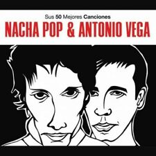 NACHA POP & A.VEGA - SUS 50 MEJORES CANCIONE [CD]