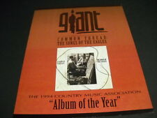 Songs Of The Eagles Common Thread album of the year. 1994 Promo Poster Ad mint