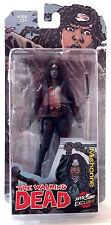 Walking Dead Michonne Action Figure Bloody Version McFarlane 2015 SDCC Exclusive