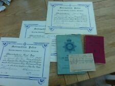 More details for 1960s collection original met police drivers certificates & booklets pc 226