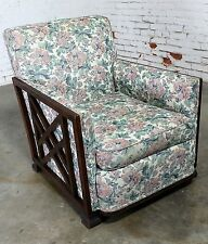 ON SALE! Art Deco Oak and Upholstered Club Chair