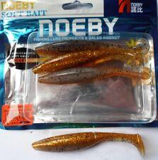 Noeby pêche leurre souple odorant Shad Minnow 10cm 9g couleur 208