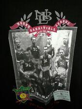 Harlem, NY Knights-NBL long sleeve 3X Tshirt (before the NBA,Black History)