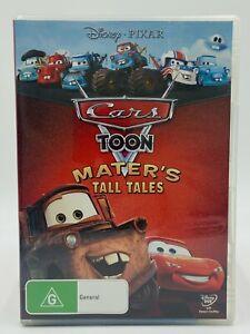 Cars Toon Matters Tall Tales DVD Kids Disney Pixar PAL 4