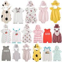 "Vaenait Baby Newborn Baby Girls Boys Hoodie One-Piece /""Long Hoodie Stripe/"" 6-24M"