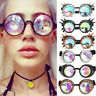 Festivals Rave Kaleidoscope Rainbow Sun Glasses Prism Diffraction Crystal Lense