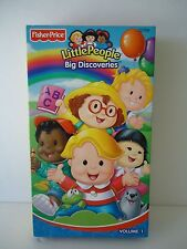 """LITTLE PEOPLES """"BIG DISCOVERIES Vloume 1 VHS in Good condition"""