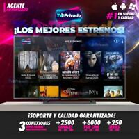 TV PRIVADO ENTERTAINMENT (CANALES LATINOS, USA, USA LATINO, EUROPA)