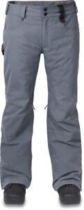 Dakine Artillery Insulated Snowboard Pants, Men's Large Dark Slate Gray New 2020