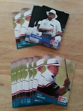 GAY BREWER LOT OF 24 OFFICIAL SENIOR  PGA GOLF COLLECTORS TRADING CARDS