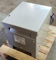 Ward Transformer Co. 480/460/440-230Vac 3PH 10KVA AutoTransformer - Inv #3641