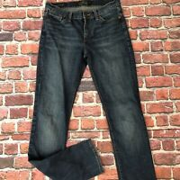 Lucky Brand Brooke Straight Jeans Womens 2/27 Low Rise Denim