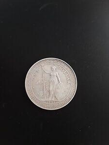 BRITISH HONG KONG SILVER  TRADE DOLLAR 1902