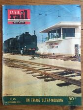 LA VIE DU RAIL n 376 du 8 Dec 1952 - Un triage Ultra-moderne GEVREY
