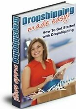 Dropshipping Made Easy Ebook PDF with Master Resell Rights + 5 Bonus Ebooks