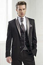 Custom Made Men's Wedding Suits Groom Tuxedos Party Suits Groomsman Tuxedos