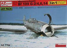 AZ Models 1/72 AZ7704  Messerschmitt Bf109G-2/4/6/14 Joypack