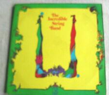 "Incredible String Band U 12"" 33rpm 2LP set Record Psych Folk Prog British Rock"
