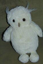 """Jellycat Woodland Babe Owl Plush Stuffed Animal Toy Cream White 11"""""""
