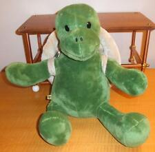 Build A Bear Green Trekkin Turtle Shell Backpack Plush Stuffed Animal