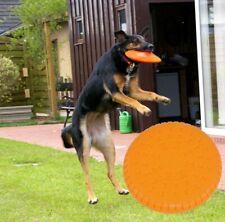 5 X Nanook Frisbee Hunde bissfest Hundefrisbee MAXIMUM - 23 Cm Ø orange weich