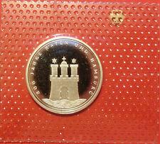 BRD 10 Deutsche Mark 1989 G 40 Jahre Bundesrepublik PP  15,5g  625er Silber