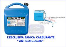 Bidone Carburante Tanica Bidoncino 10 l litri trasporto Benzina beccuccio per di