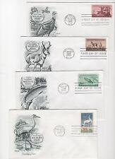 US FDC Conservation Collection 29 First Day Covers 1956-74 Cacheted Unaddressed|