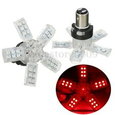 2X RED 41 SMD LED BAY15D 3157 3156 SPIDER LITE BRAKE TURN TAIL LIGHT BULBS