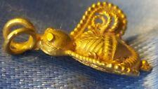 Splendido periodo Romano 2ND SECOLO D'ORO QUEEN Bee Ciondolo in oro 22-23 CT