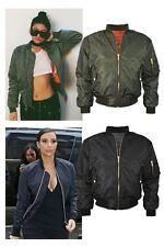 Unbranded Women's Polyester Waist Length Zip Coats & Jackets