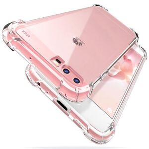 Gorilla Shockproof Crystal Clear Bump Case For Huawei P20 P30 PRO LITE P SMART